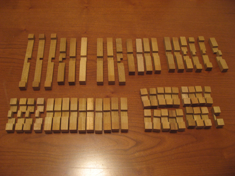 Chris Lomont's 51 Piece Burr Puzzle Solution · Lomont org